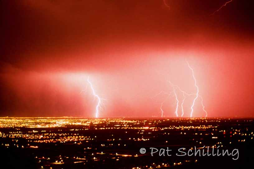 Lightening Over Phoenix