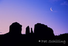 Crescent Over Cathedral