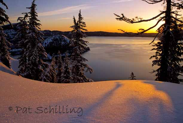 Crater Lake Sunrise #2