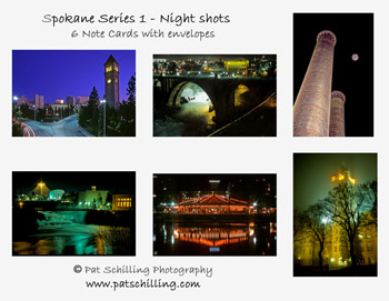 Spokane Series 1 - Night Shots