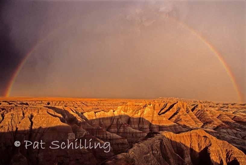 Badlands Rainbow
