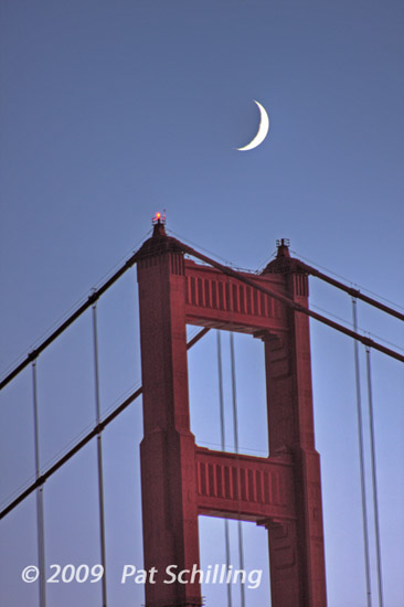 Moon Over the Tower