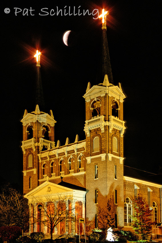 Eclipse Over St Aloysius