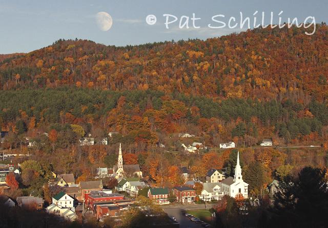 Vermont Autumn Moonrise